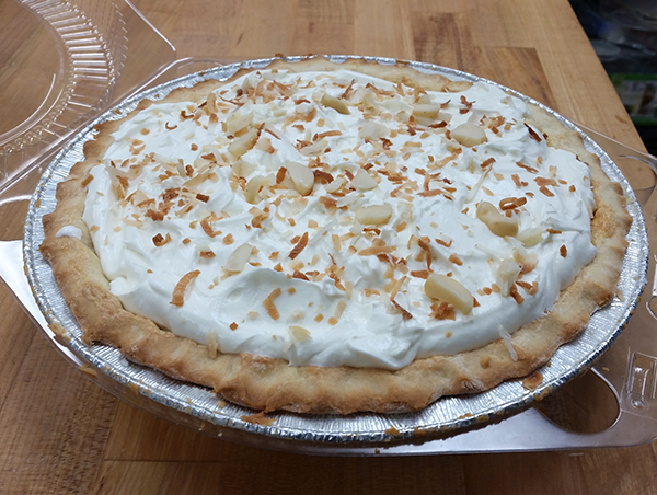 lemon meringue pie, Newberg